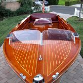 1940 Chris Craft 18 foot Deluxe