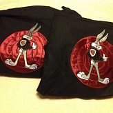 Matching Bugs Bunny jackets size XL and Large